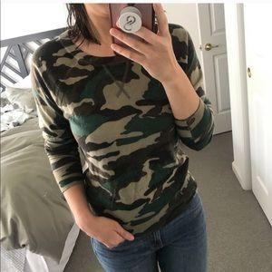 J.Crew Camo merino Sweatershirt